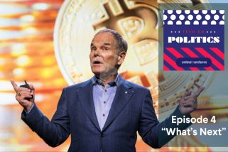 Don Tapscott in Tech on Politics Podcast