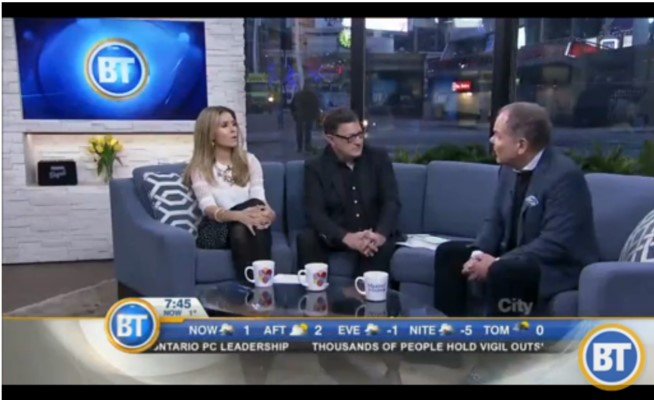 Don Tapscott Interviewed on Breakfast Television