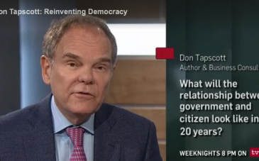 Don Tapscott on TVO's The Agenda