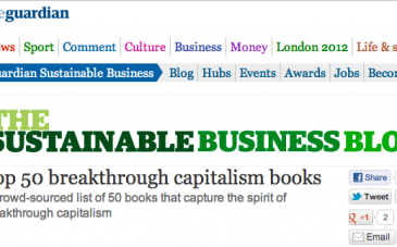 Guardian Sustainable Business Blog