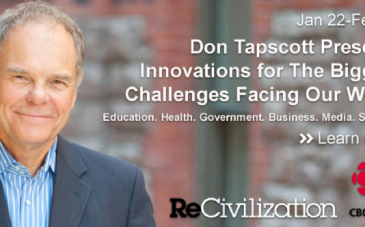 ReCivilization Don Tapscott