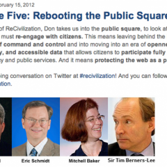 Finale Episode on ReCivilization: Rebooting the Public Square