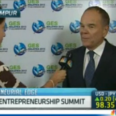 CNBC Interviews Don Tapscott at The Global Entrepreneurship Summit