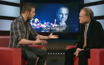Don Tapscott on George Stroumboulopoulous Tonight