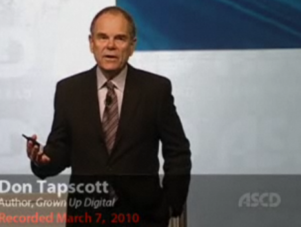 Don Tapscott ASCD 2010 Keynote