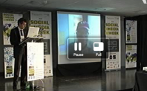 Don Tapscott and Social Media Week Glasgow