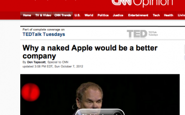 Why a Naked Apple Would Be a Better Company
