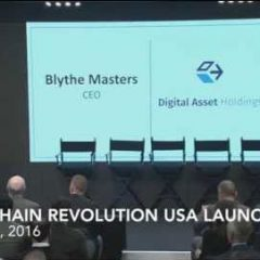 Introduction of Blockchain Revolution Launch in NYC