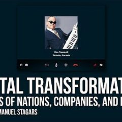 "Digital Transformation: Interview with Don Tapscott, Author of ""Blockchain Revolution"""