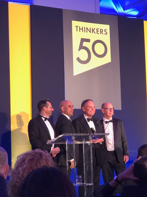 Two Canadians top the 2017 Thinkers50 List of Management Thinkers