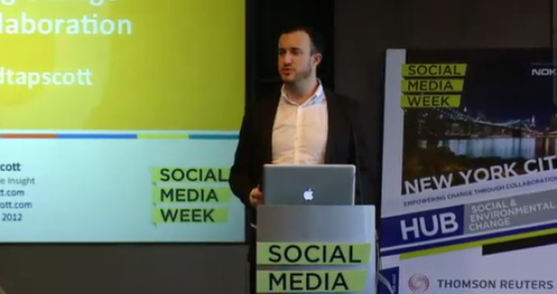 Social Media Week Opening Keynote and Interview with The Economist