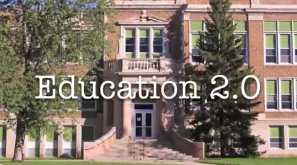 Stop Motion Animation on Education 2.0 with Sir Ken Robinson and Don Tapscott